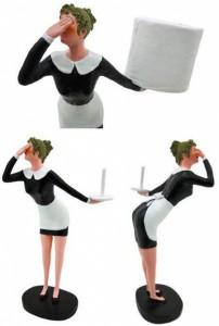 держатель-горничная для туалетной бумаги