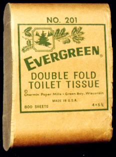 туалетная бумага экспонат