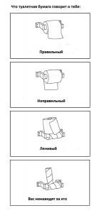туалетная бумага как ее раскручивают