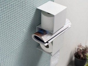 держатель для туалетной бумаги полочка