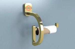 держатель для туалетной бумаги с датчиком