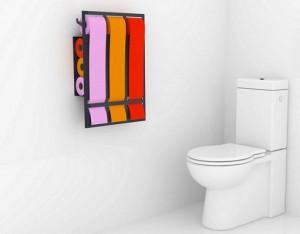 держатель для туалетной бумаги вместительный