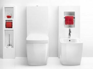 держатель для туалетной бумаги встроенный