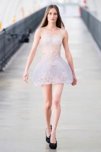 ледяное платье показ