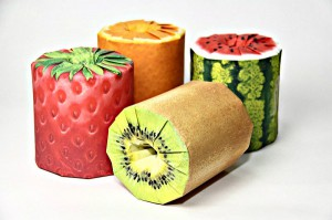 туалетная бумага фрукты