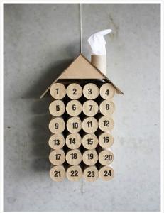 туалетная бумага поделки календарь