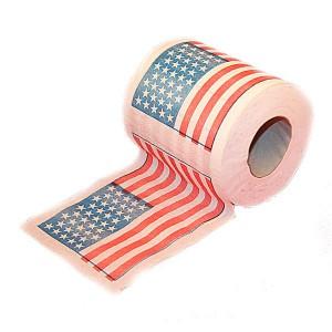 туалетная бумага американский флаг